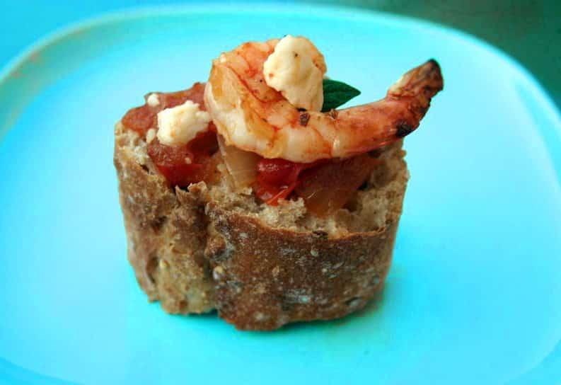 Shrimp Saganaki as a classic Greek Meze • CulturEatz