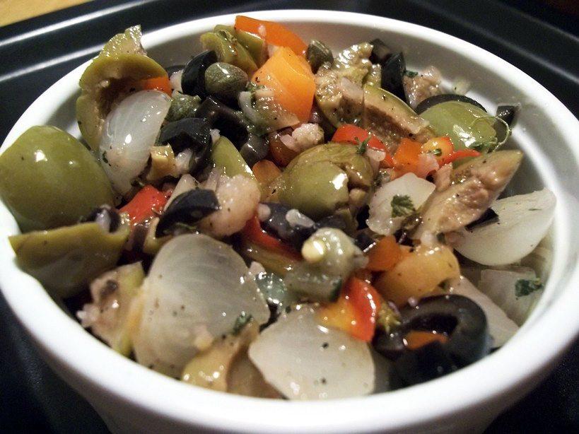 Taste of Treme: Myesha's Muffuletta Olive Salad