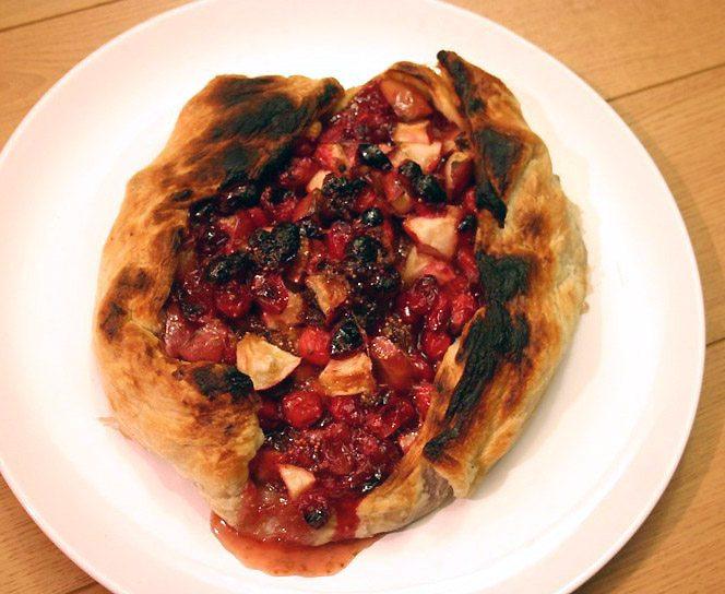 Cranberrylove: Cranberry Lime Galette