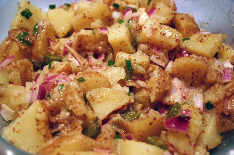 Austrian potato salad 006