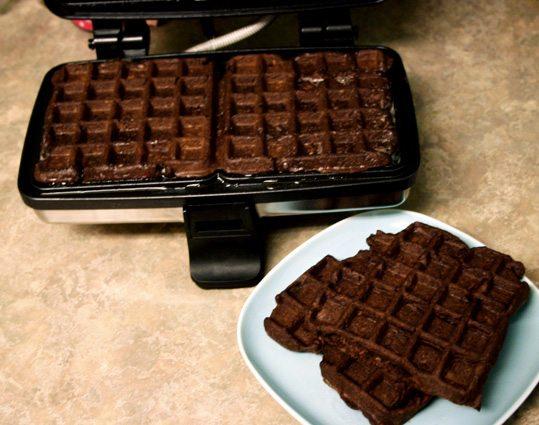waffle brownies 001