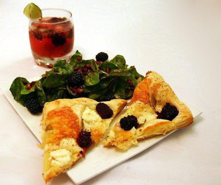 Blackberries Three Ways: a main course