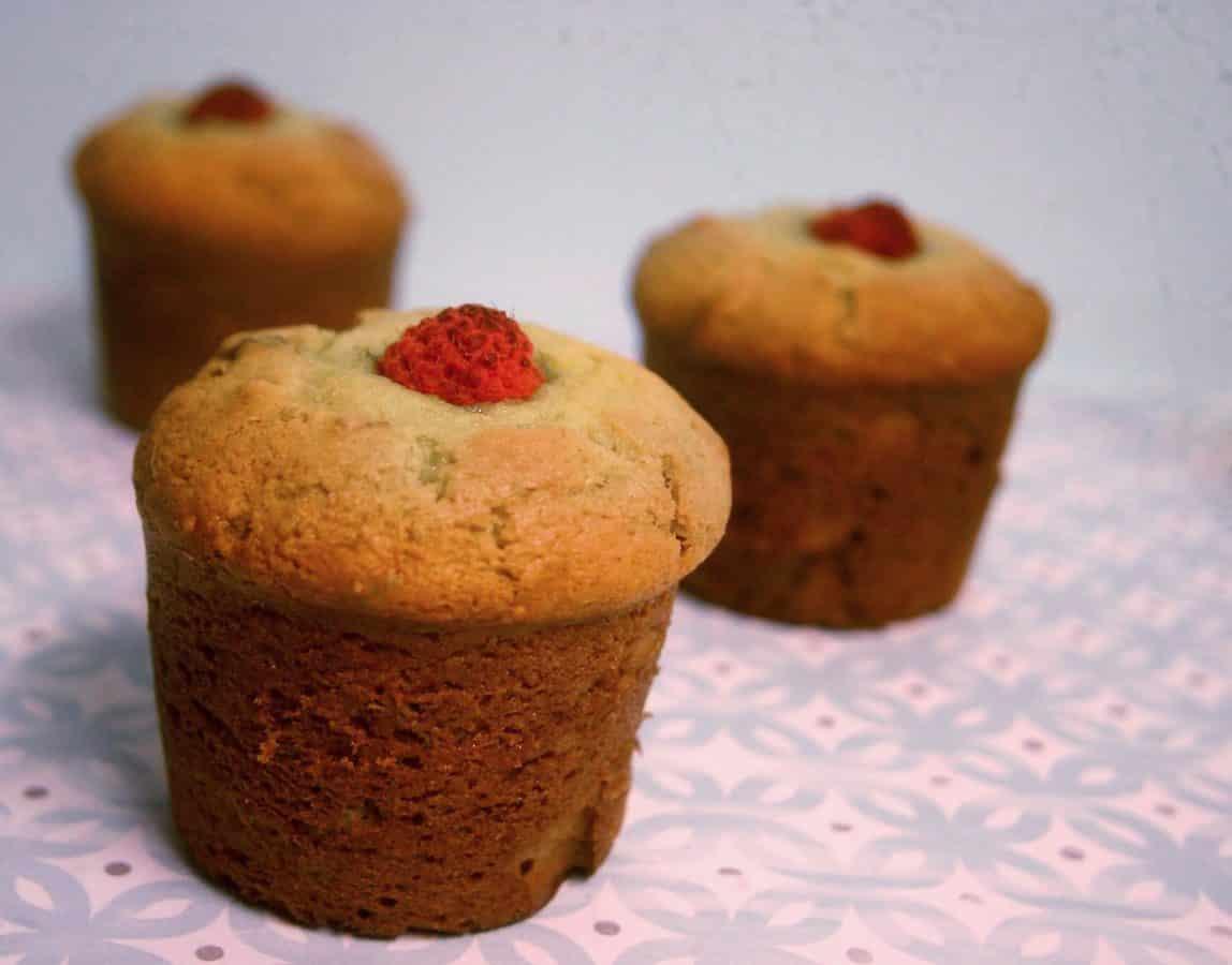 Lemon Lavender Avocado Loaf and Cupcakes