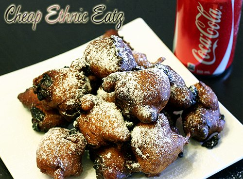 Deep Fried Coke fritters