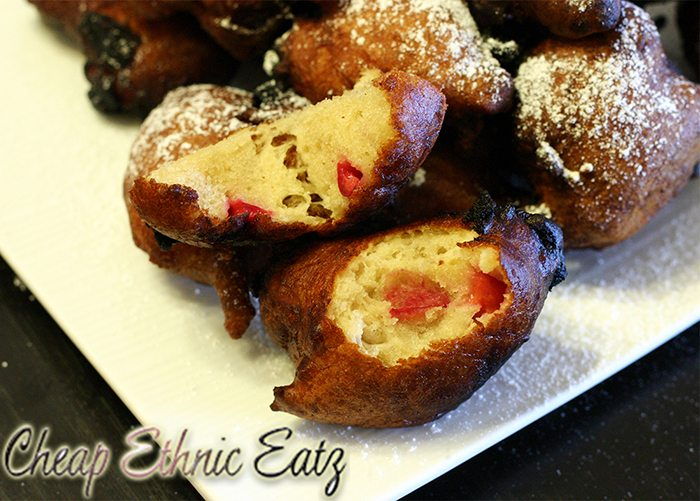 Deep Fried Coke with Sour Cherries