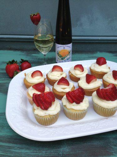 Moscato Cupcakes