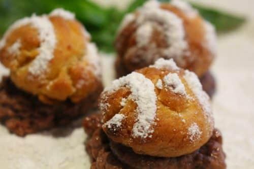 Pastry-cream-puff