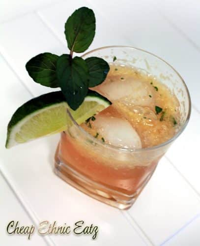 Ginger Julep Cocktail 1