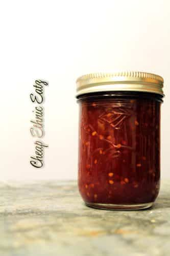 canned roasted tomato jam
