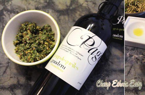 pesto olive oil Pago de Queiles