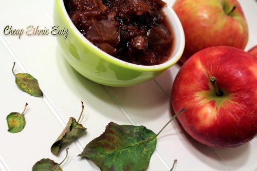 Bourbon Lavender Raspberry Applesauce angle