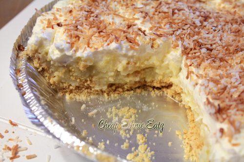 Coconut Cream Pie 6