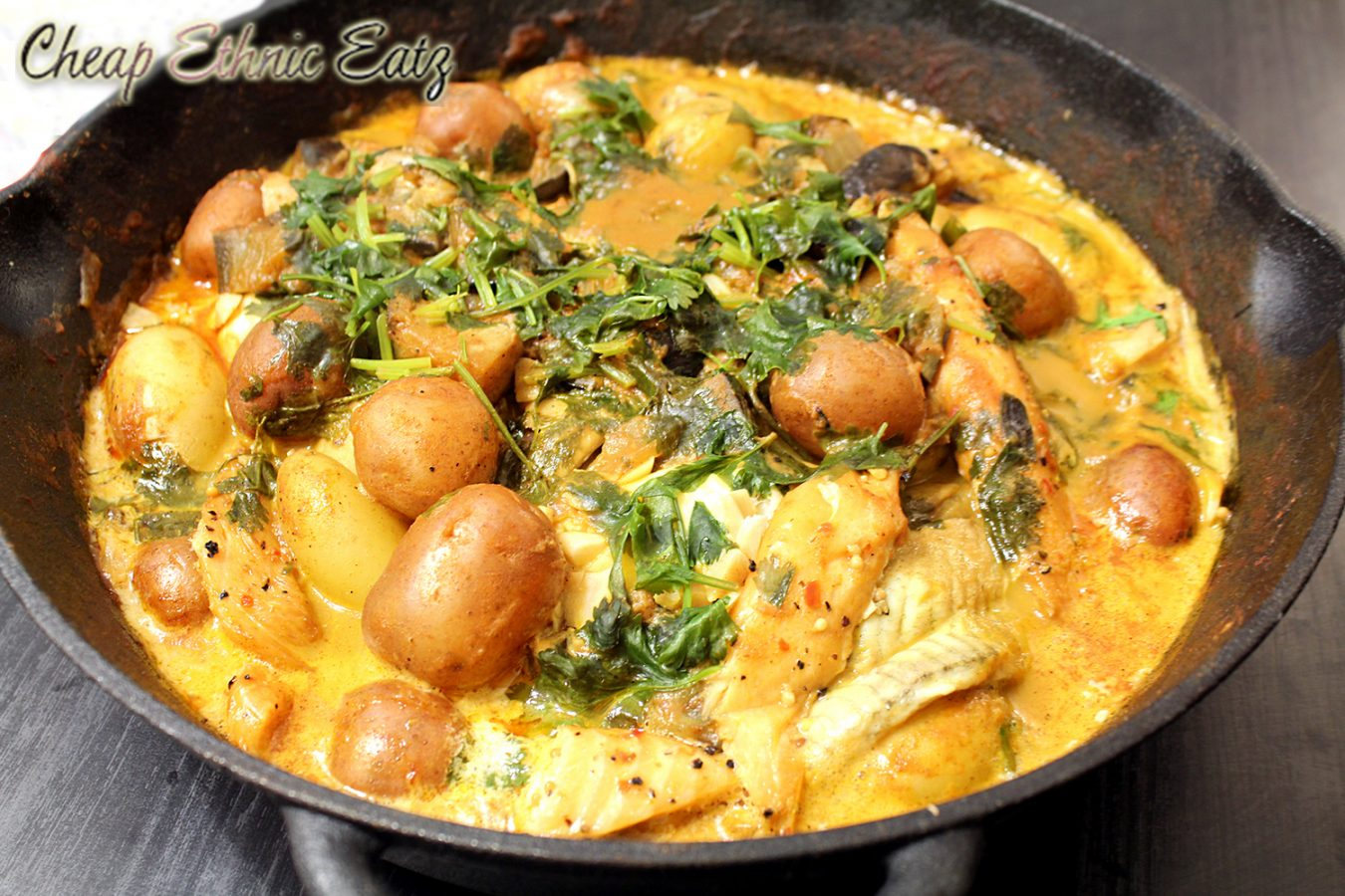 Smoky brazilian fish and potato stew cultureatz for Fish stew with potatoes