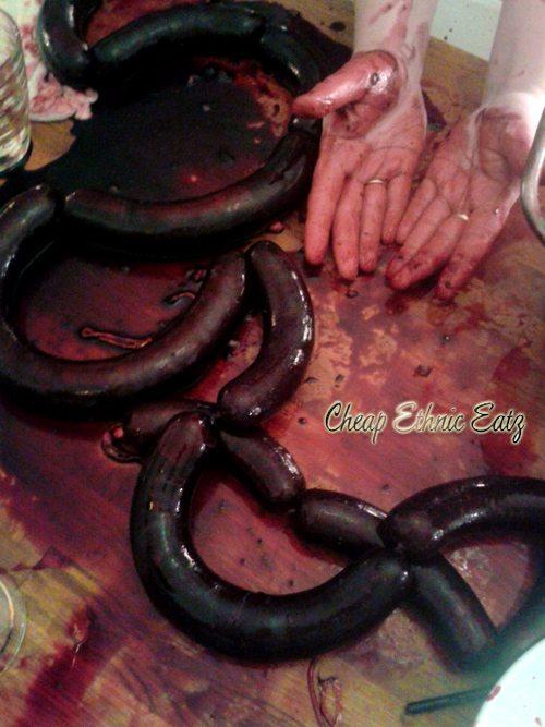 how to make blood sausage recipe