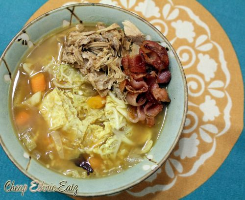 Irish Bacon Cabbage Millet Soup 1