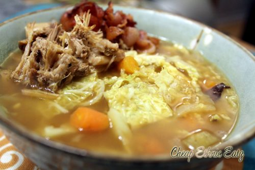 Irish Bacon Cabbage Millet Soup 3