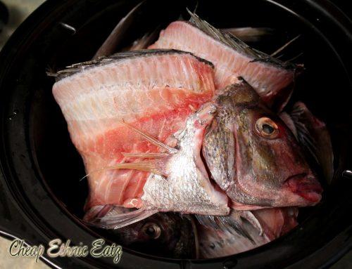 fish bone broth bones