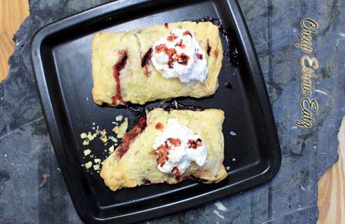 Berries n Cream Turnover top