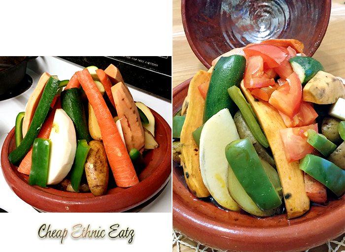 Tagine Berber cooking steps