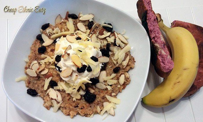 Masoub, a Saudi Arabian Banana Breakfast Dish