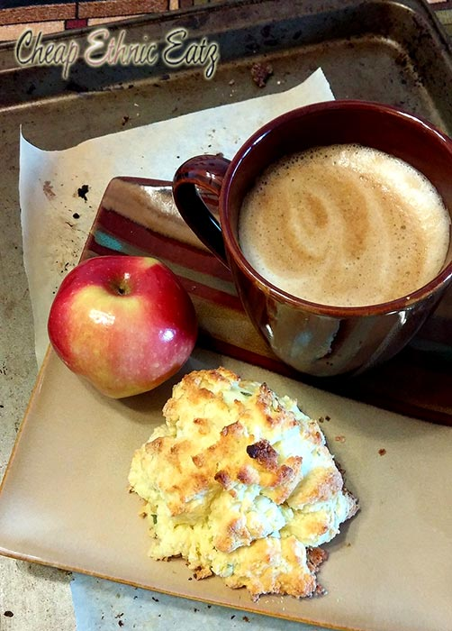 The Sage Egg Biscuit Surprise is a great breakfast treat and a healthy ...