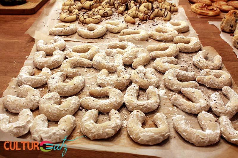 Austrian Vanillekipferl Cookies