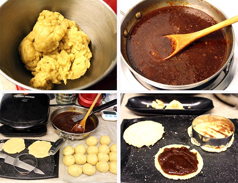 Making Stroopwafels