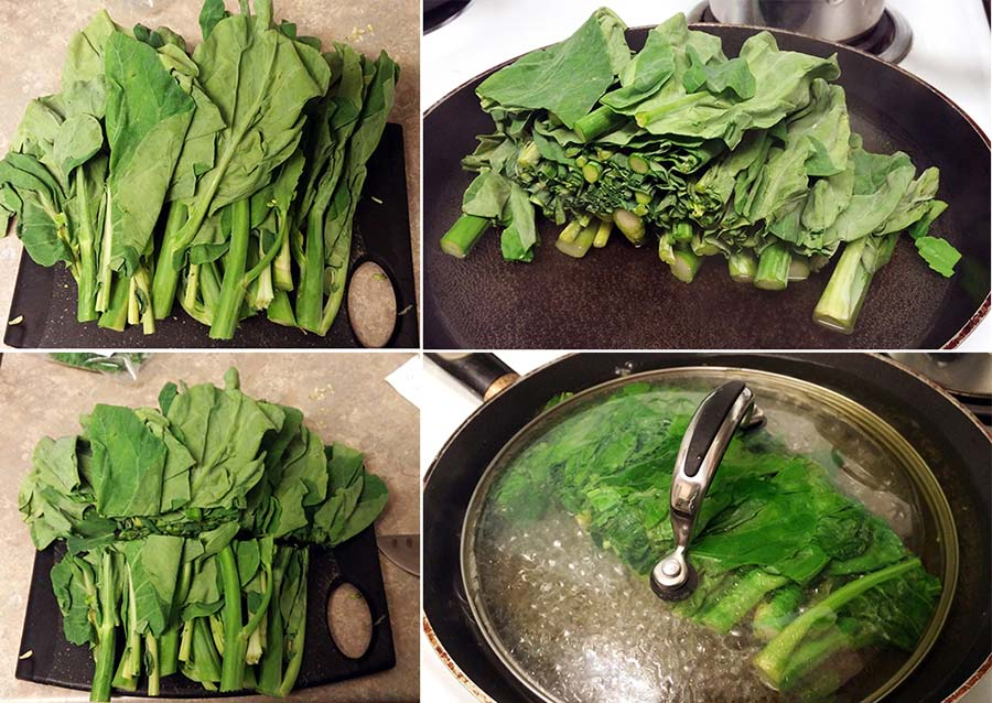 chinese broccoli preparation