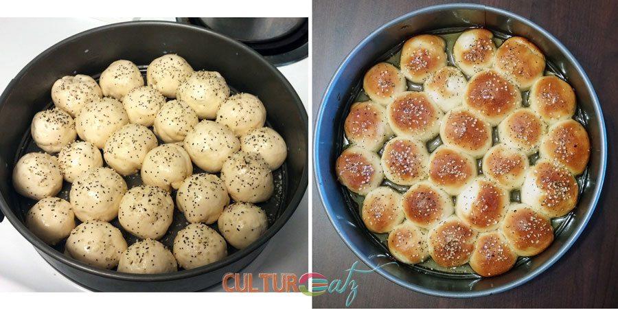Yemeni honeycomb bread pan