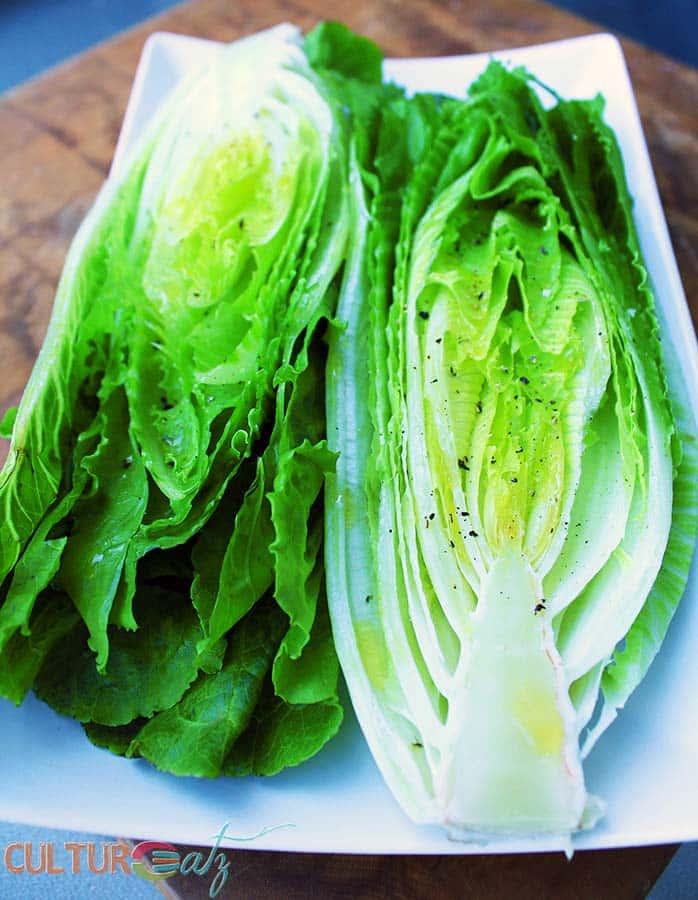 romaine lettuce heart