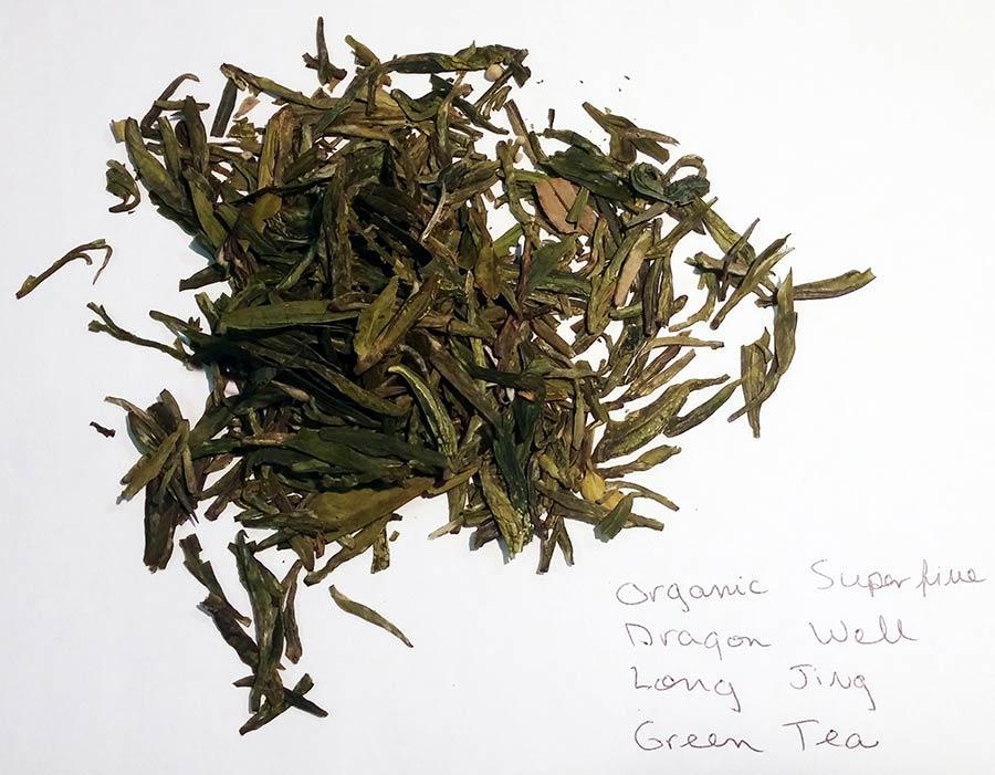 Finer Teas Organic Superfine Dragi Well Long Jing Green Tea
