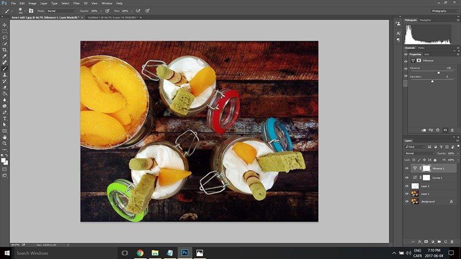 food photo edit