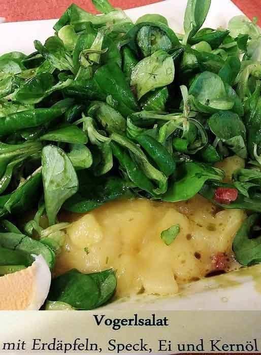 Erdapfel Vogerlsalat