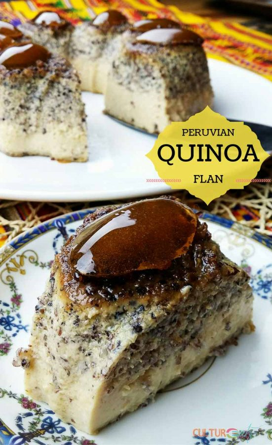 Peruvian Quinoa Flan
