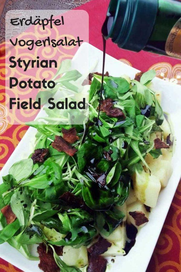 Styrian Potato Field Salad pin