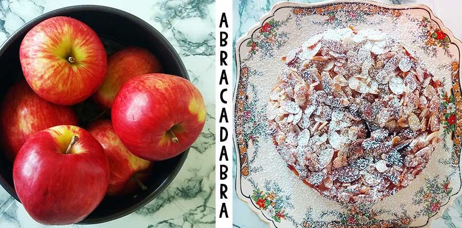 Invisible Apple Cake magic