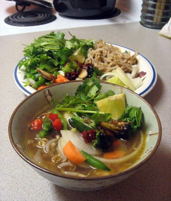 Daring Cooks: Pho Soup