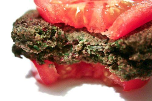 Beet Greens Burger