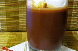 brazillian iced chocolate drink