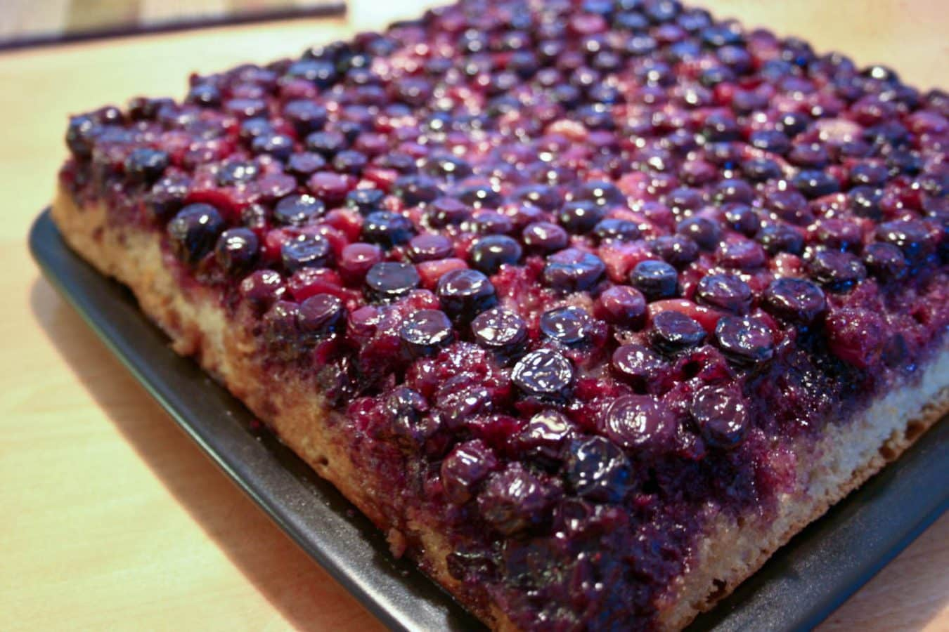 blueberry upside down cake blueberry cake 1978