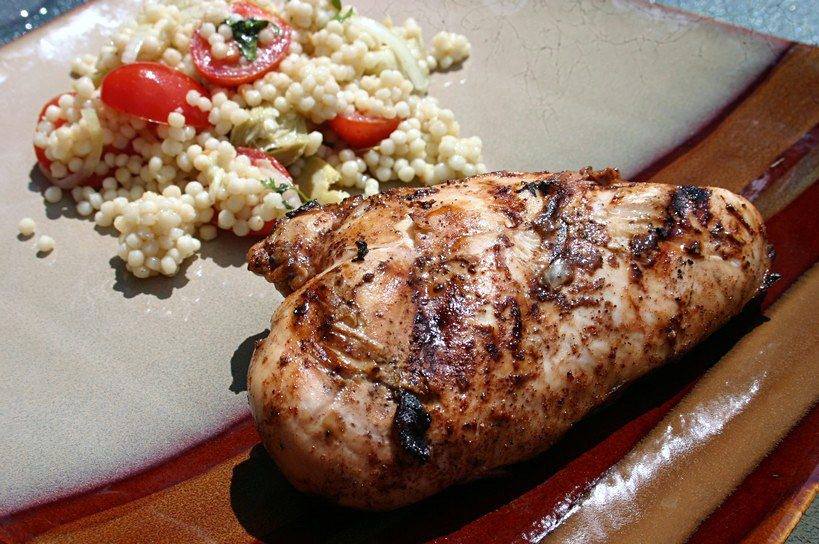 Grilled Lime and Bitters Chicken