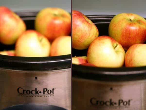 Slow Cooker Chunky Applesauce