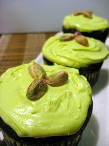 Chocolate Matcha Cupcakes