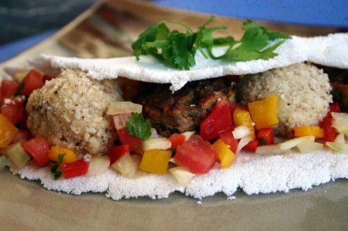 BLT sandwich tapioca crepes