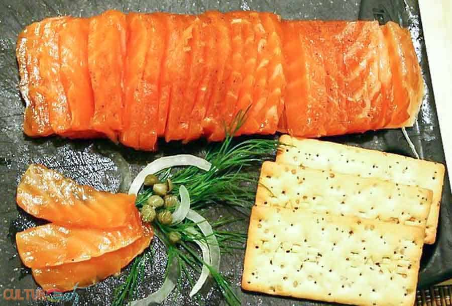 Swedish Cured Salmon Gravlax the Easy and Economical Way