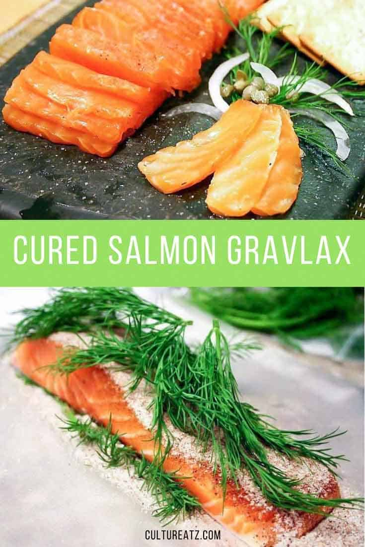 Swedish Cured Salmon Gravlax