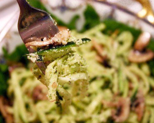 pesto spaghetti 065