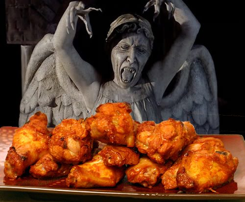 weeping angel hungry