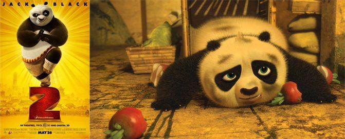 dim sum Kung Fu Panda 2 Radishes