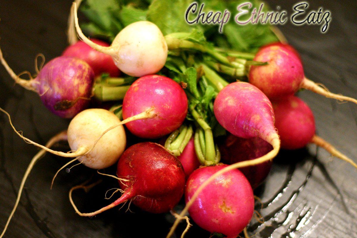 dim sum radishes